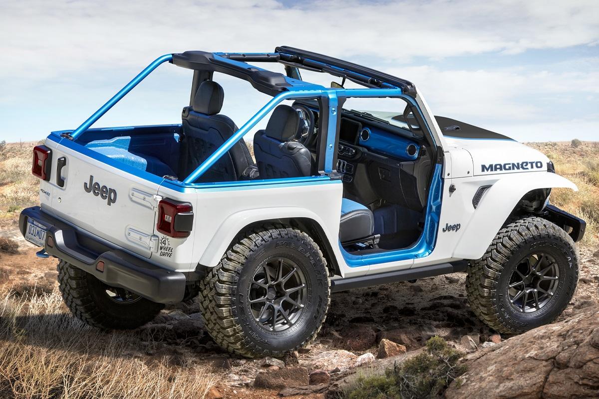 1 Jeep Magneto Elektro Wrangler Konzept