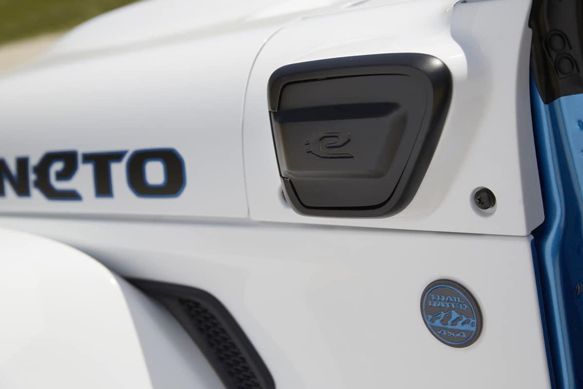 4 Jeep Magneto Elektro Wrangler Konzept