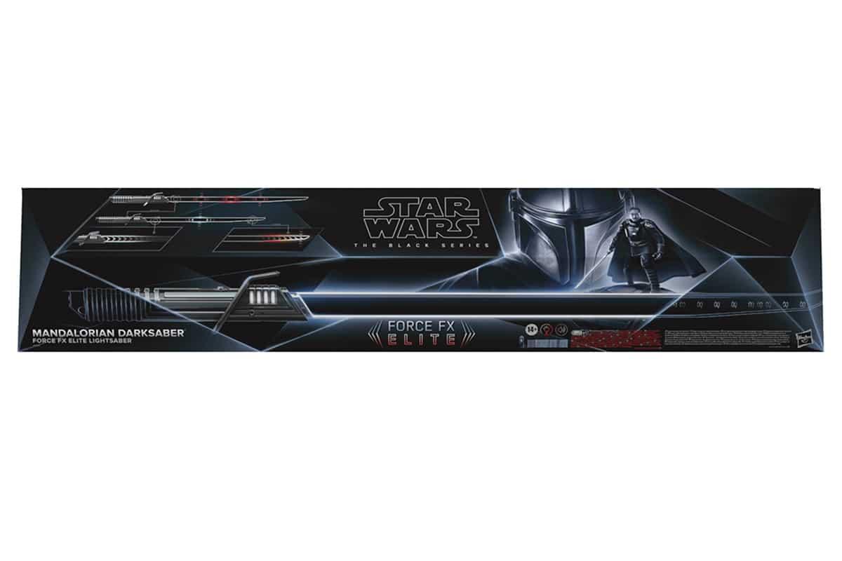 Star Wars Die Black Series Mandalorian Darksaber Box