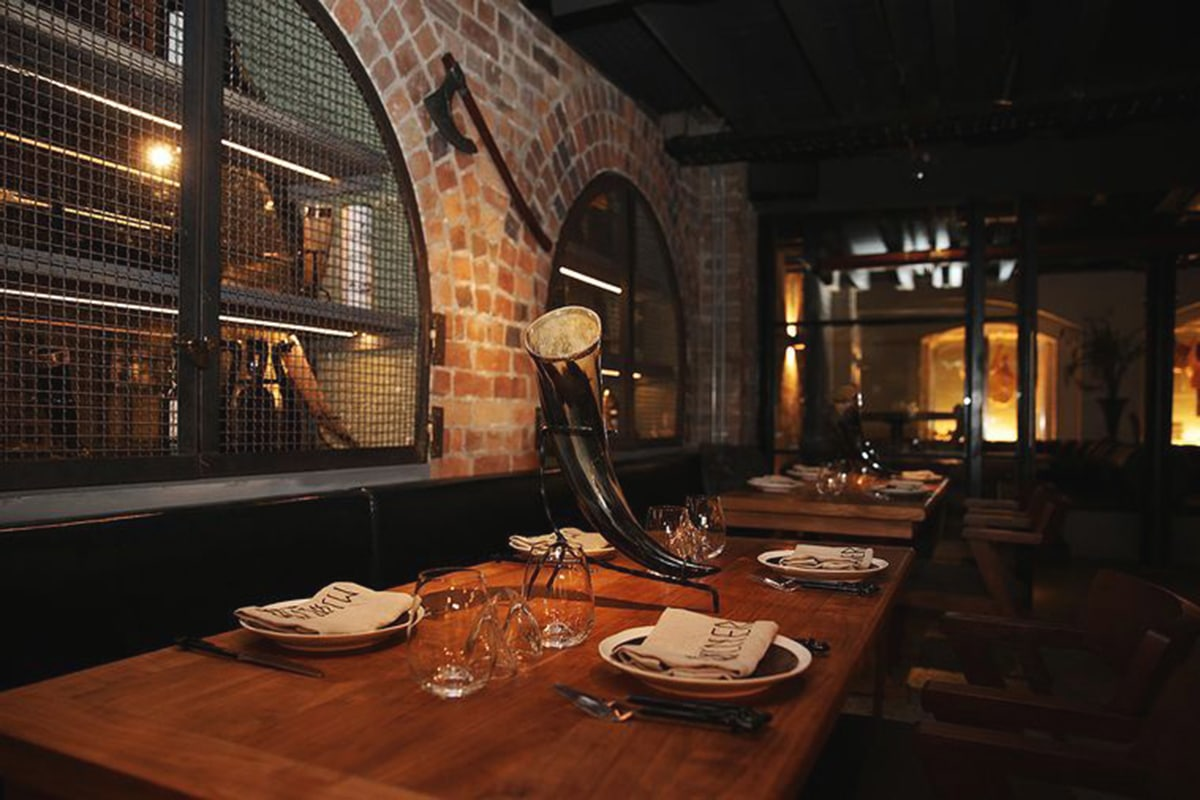 mjolner sydney Restaurant interior