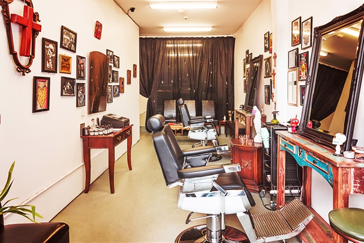 chicanos barber shop