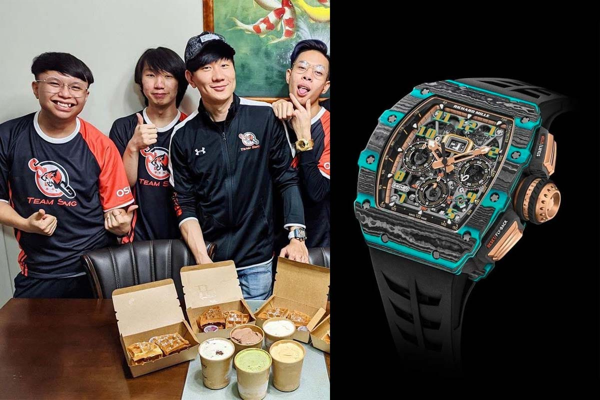 Jj lin richard mille