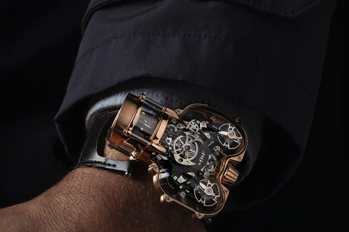 MB & F beherbergte sein neuestes HM9-Handgelenk