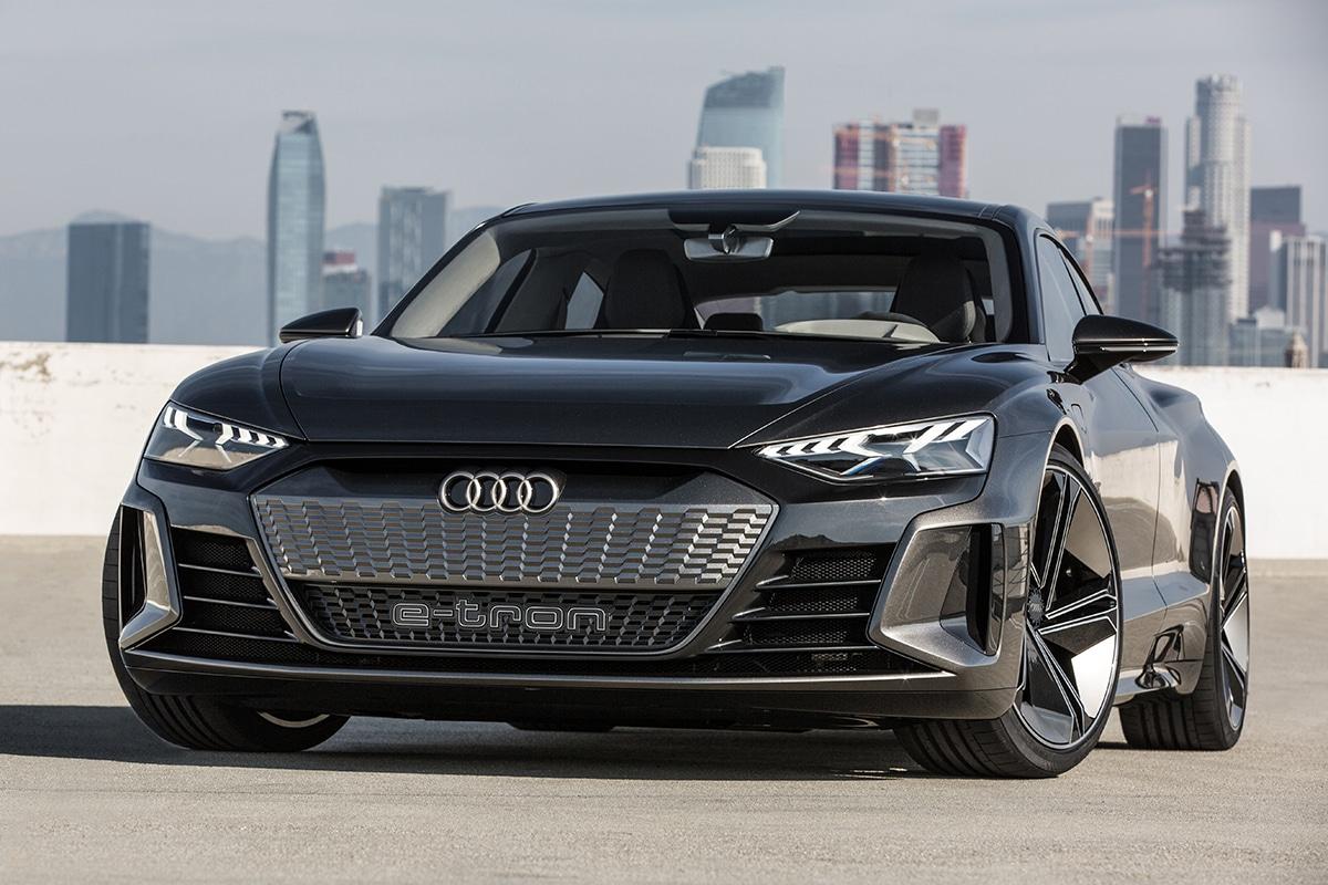 Audi E-tron GT vorne