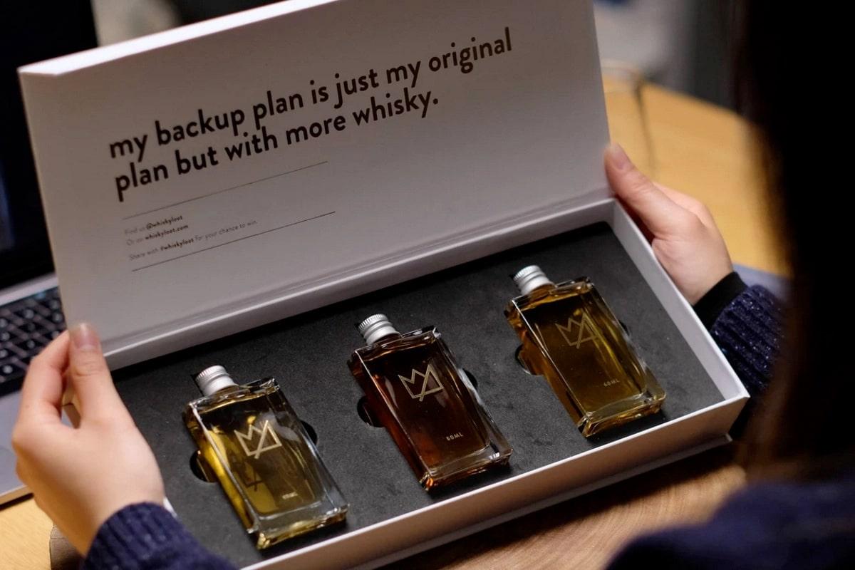 Whisky Beute Irish Whiskey Tasting Pack