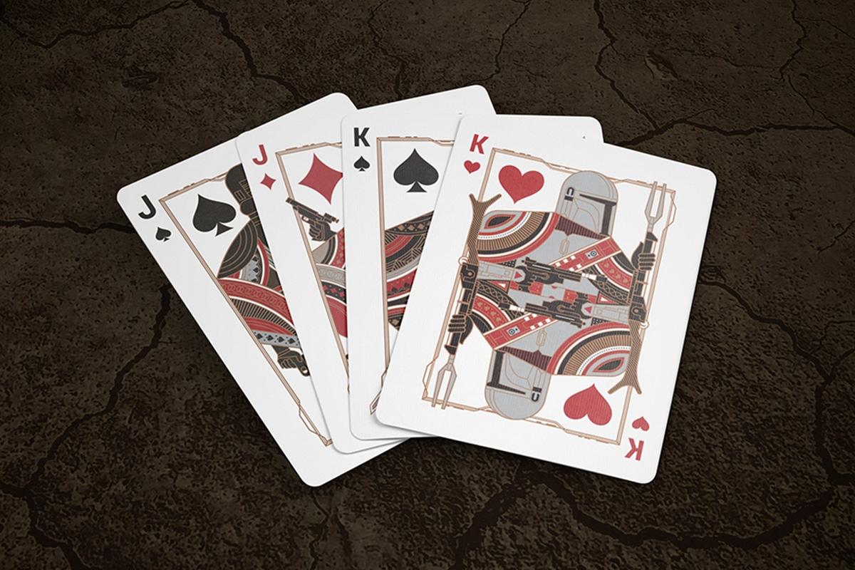 Mandalorianische Spielkarten King Jack
