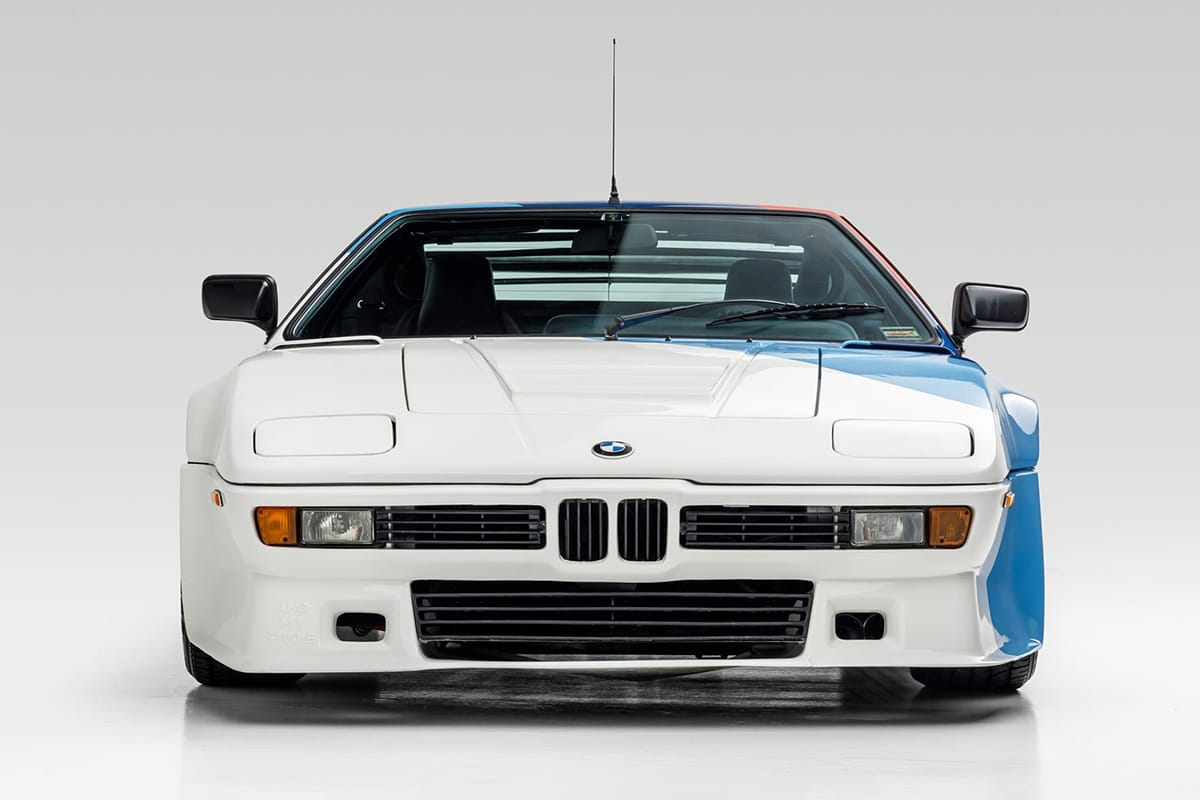 Paul Walker's BMW M1 AHG Studie Coupe front