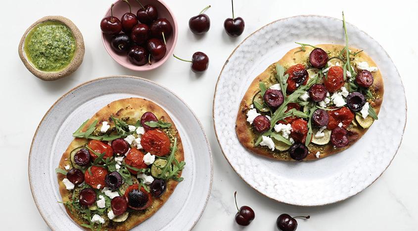 Das Sommer-Pitta-Rezept von Madeleine Shaw ist unser neues WFH-Mittagessen