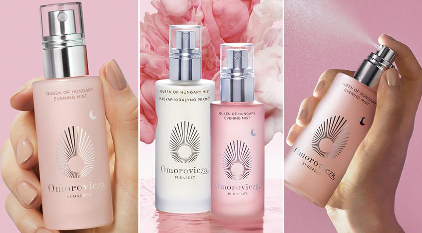 Omoroviczas Queen of Hungary Evening Mist ist Ihr neuer Hautpflegeschritt vor dem Kissen für eine verträumte, ausgeglichene Haut