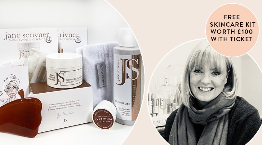 Begleiten Sie Jane Scrivner für eine 5-Schritte-Gesichtsbehandlung mit Skin Health Glow und erhalten Sie ein Hautpflegeset im Wert von 100 £!