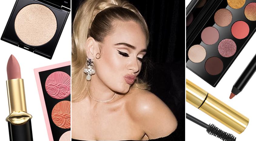 Adeles Vogue-Cover-Make-up-Look kostete 357 £.  Wir haben es für 71,89 € nachgebaut